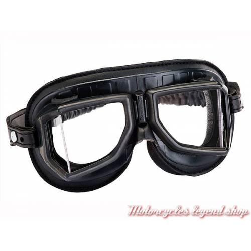 Lunettes Climax 513S, noir mat, champ vision élargie, verres incassables