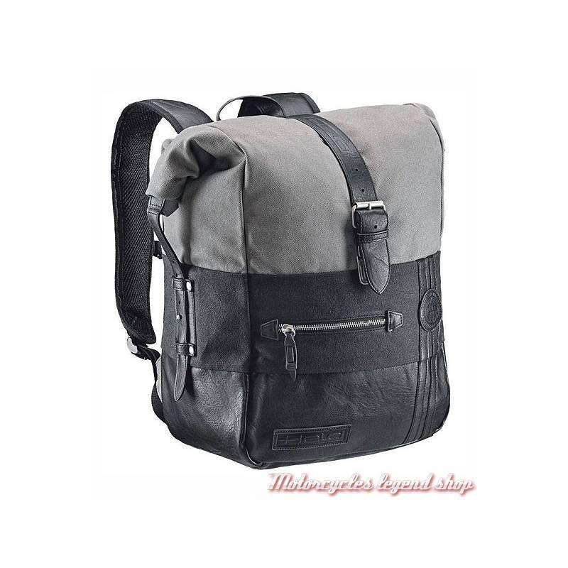 Sac à dos Canvas Held, étanche, gris, noir, coton, similicuir, 20 litres, 4799