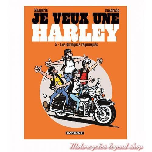 """BD """"Je veux une Harley"""" Tome 5"""
