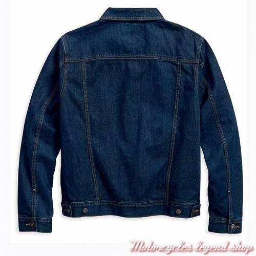 Veste en jean Trucker Black Label Harley-Davidson, homme, bleu, coton, 96627-17VM
