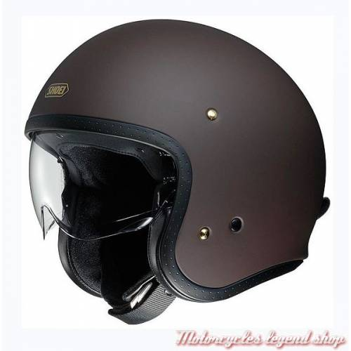 Casque J.O marron mat Shoei