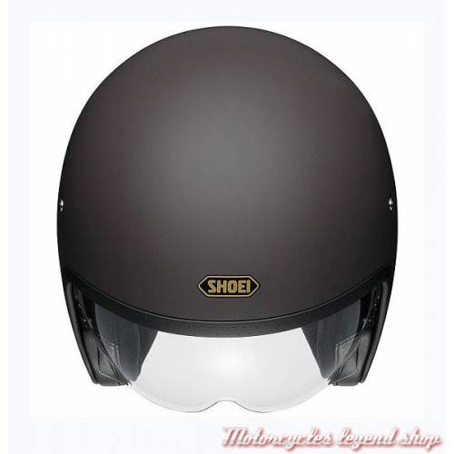 Casque J.O marron mat mixte, vintage, Shoei