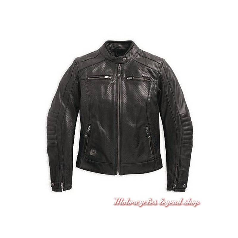 blouson cuir epic harley davidson femme motorcycles legend shop. Black Bedroom Furniture Sets. Home Design Ideas