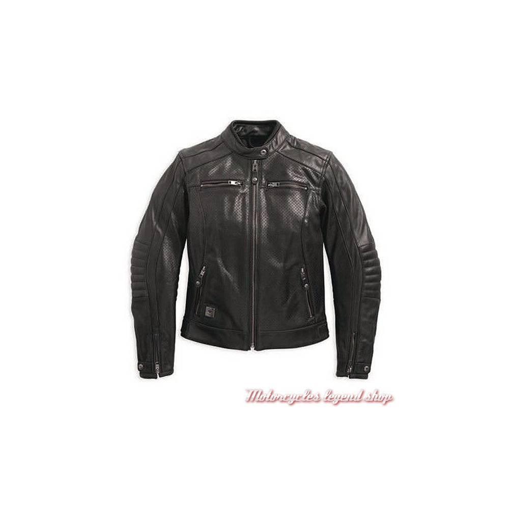 Motorcycles Shop Femme Harley Legend Cuir Epic Davidson Blouson PuOXZik