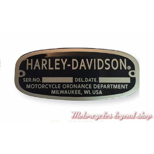 Pin's Harley-Davidson, metal nickel et noir, 241347