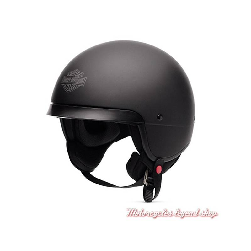 Casque Hightail noir mat Harley-Davidson 5/8, Bar & Shield, 98180-17EX