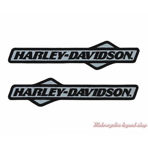 2 Patches Tank Graphic Harley-Davidson, brodés, réfléchissants, EM237803