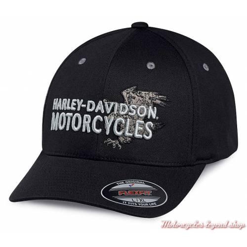 Casquette baseball Eagle Harley-Davidson homme