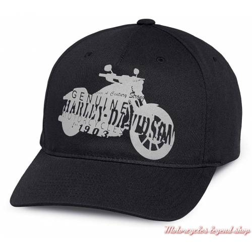 Casquette Motorcycle Silhouette Harley-Davidson