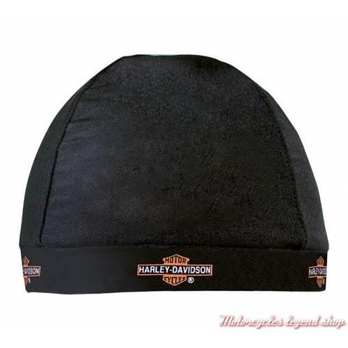 Bonnet Biker nylon Harley-Davidson, homme, noir, HC31230