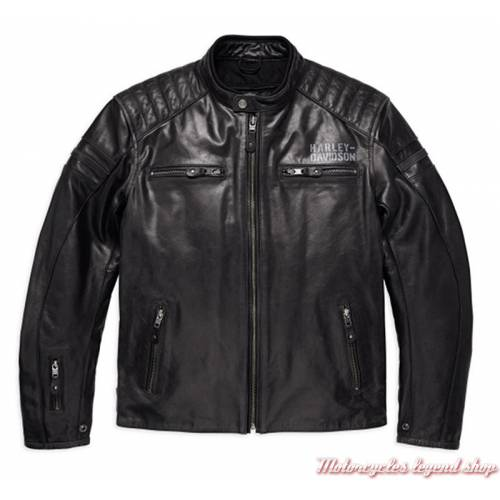 Blouson cuir One Skull Harley-Davidson homme