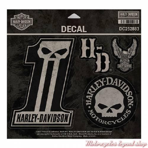 Stickers Dark Custom Harley-Davidson