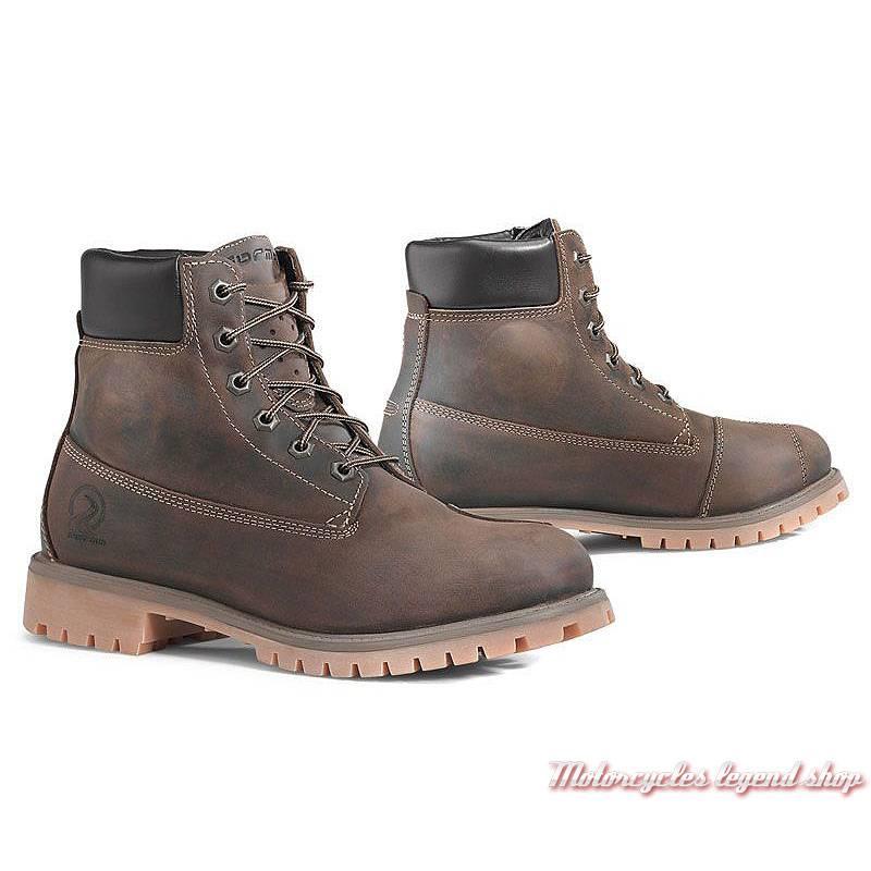 Chaussures Elite Forma homme , cuir huilé marron, homologué CE, membrane étanche, ELITEWP