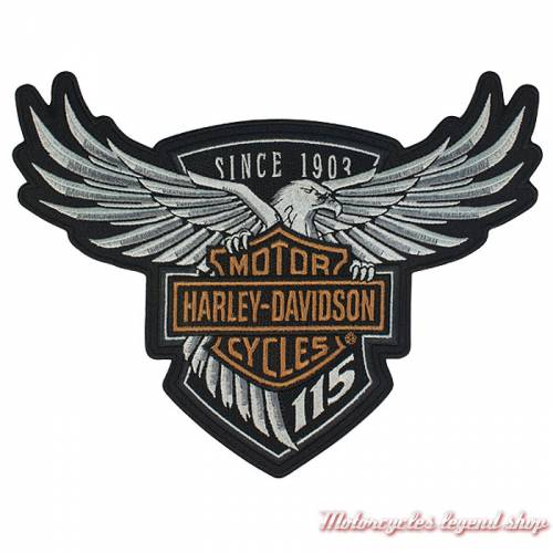 Patch 115th Anniversary Harley-Davidson EM258234