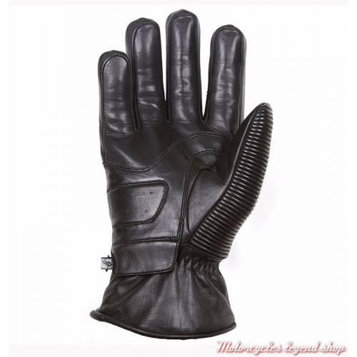 Gant cuir Camaro hiver Helstons homme, noir