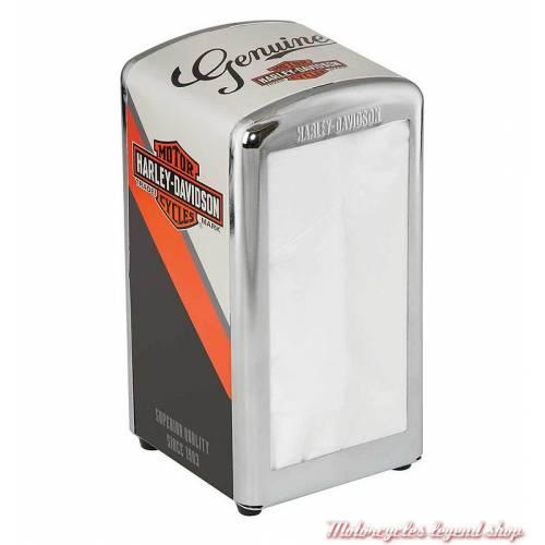 Distributeur de serviettes Nostalgic Bar & Shield Harley-Davidson