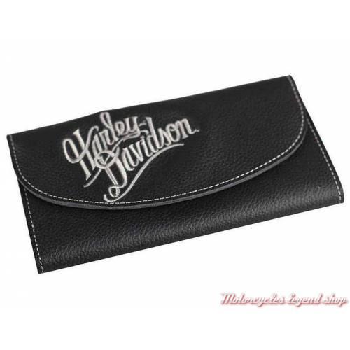 Portefeuille cuir Harley-Davidson femme