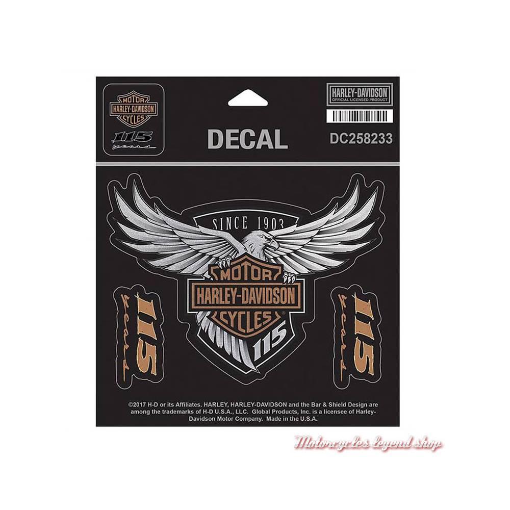 Sticker 115th Anniversary Harley-Davidson DC258233