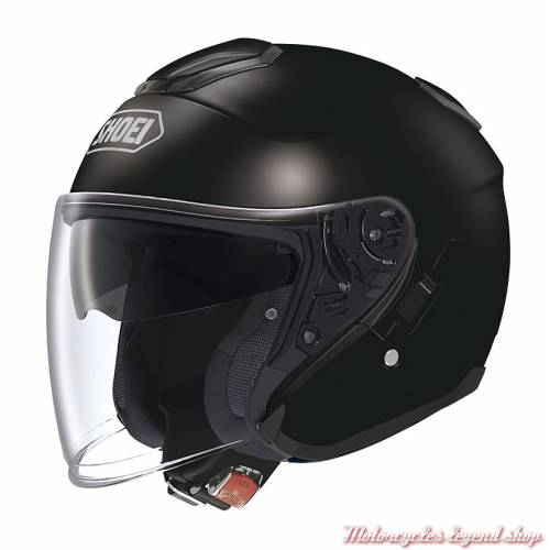 Casque J Cruise noir brillant Shoei