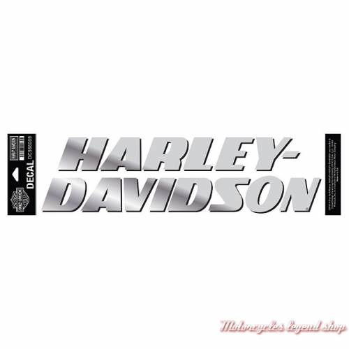 Sticker Strong Harley-Davidson, grand modèle, chrome, DC986069
