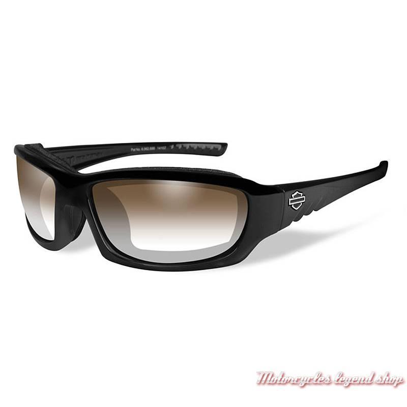 4a8bb4ee8 Lunettes jour/nuit Gem Harley-Davidson cavité intérieur amovible, verres  bruns, HDGEM08
