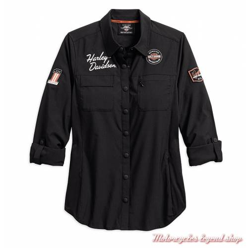 Chemise Classic Performance Harley-Davidson femme