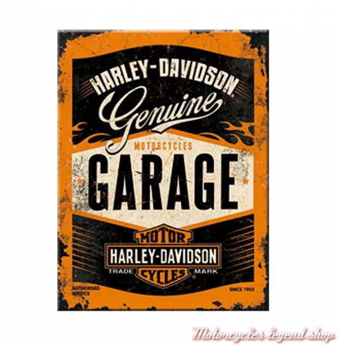 Magnet Garage Harley-Davidson, Bar & Shield antique, 14332