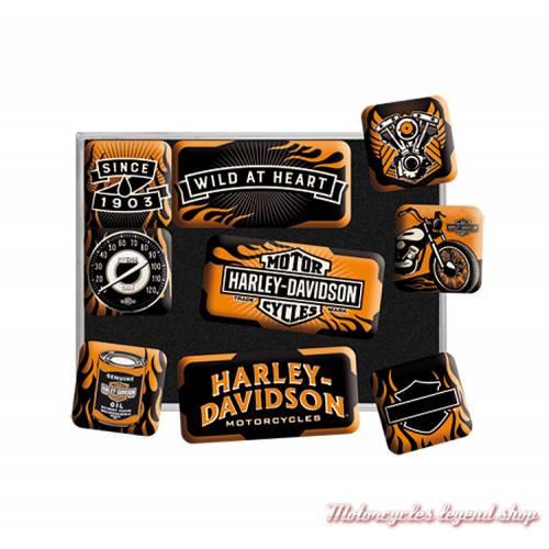 Magnets Wild at Heart Harley-Davidson
