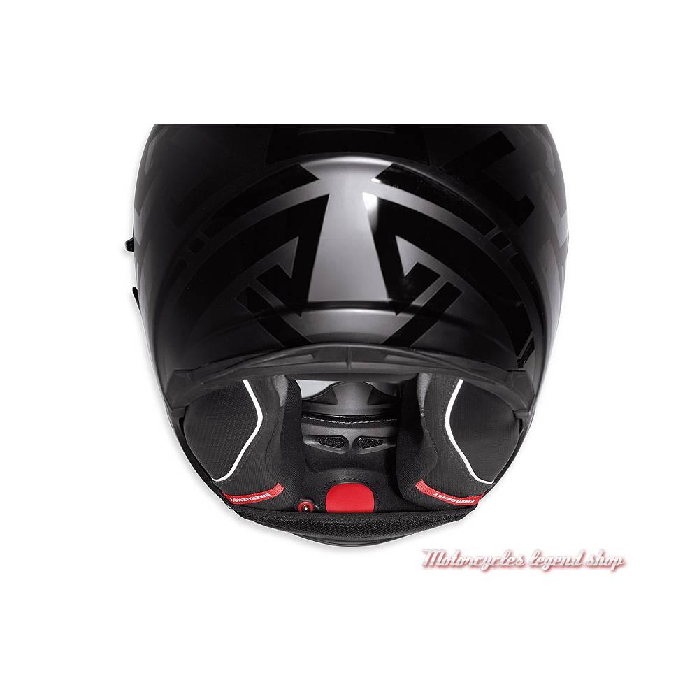Casque intégral Frill Airfit Harley-Davidson, noir mat, pompe, 98193-18EX