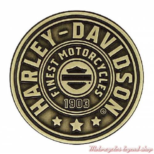Pin's Harley-Davidson, finition bronze antique, P278682