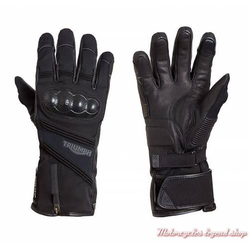 Gants Peak Triumph homme, textile, GoreTex, noir, MGVS18123