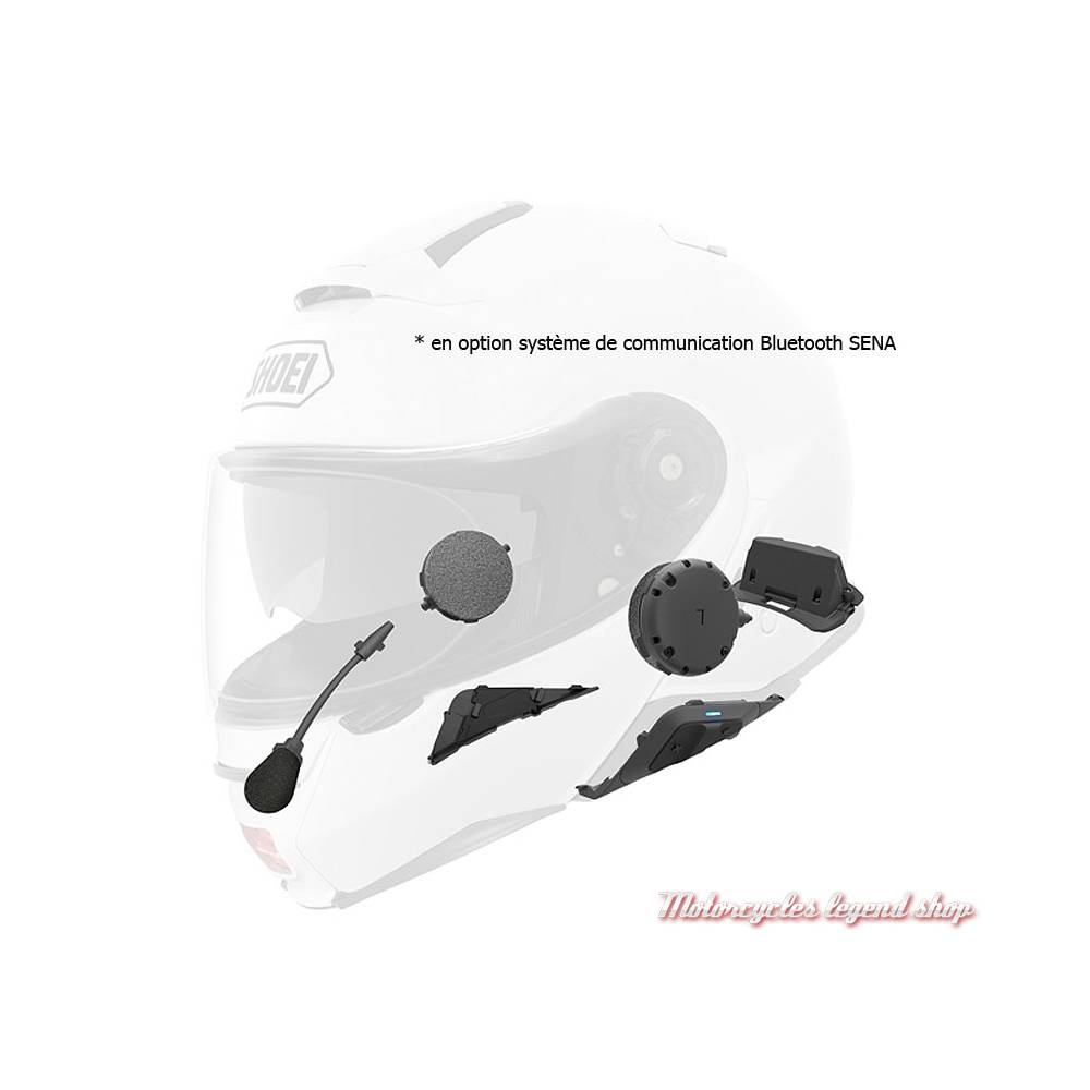 Système de communication Bluetooth SENA pour casque modulable Neotec II Excursion TC6 Shoei