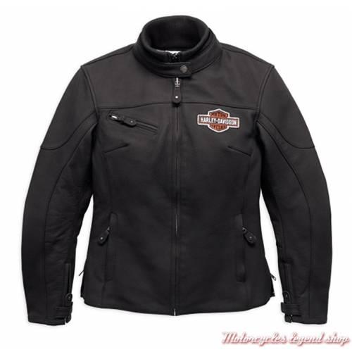 Blouson cuir Legend Harley-Davidson femme