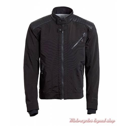 Blouson textile Hoxton Triumph, homme, noir, Gore tex, MTPS18415