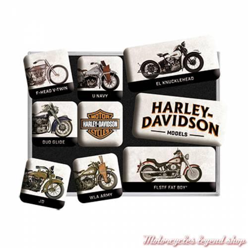 Magnets Models Harley-Davidson