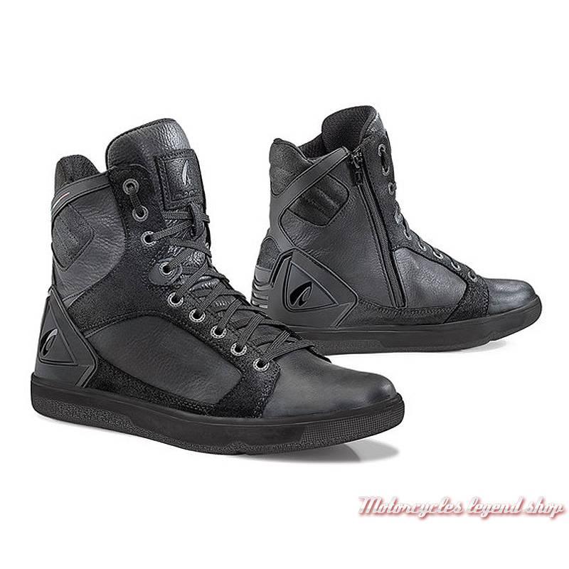 Baskets Hyper Forma homme, cuir noir, homologué CE, membrane étanche