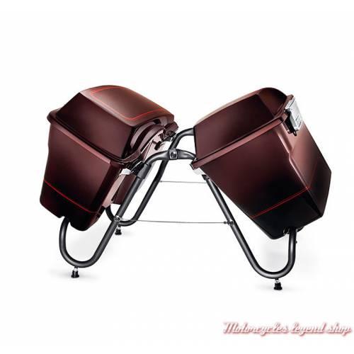 Béquille d'entreposage pour sacoches Harley-Davidson, 4 pieds réglables