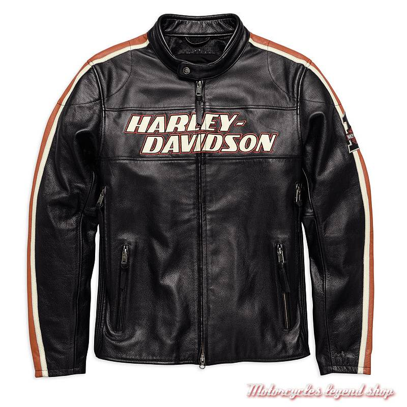 blouson cuir torque harley davidson homme motorcycles legend shop. Black Bedroom Furniture Sets. Home Design Ideas