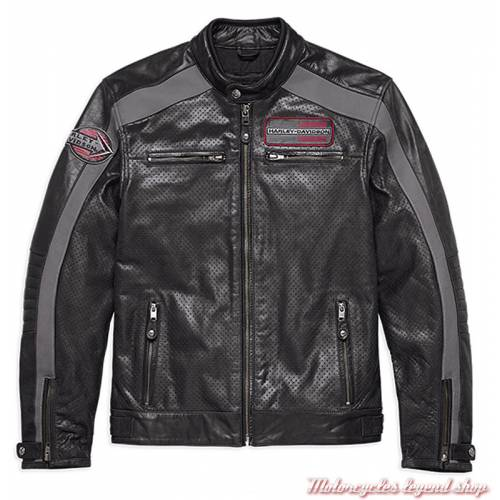 Blouson cuir Clarno Harley-Davidson homme