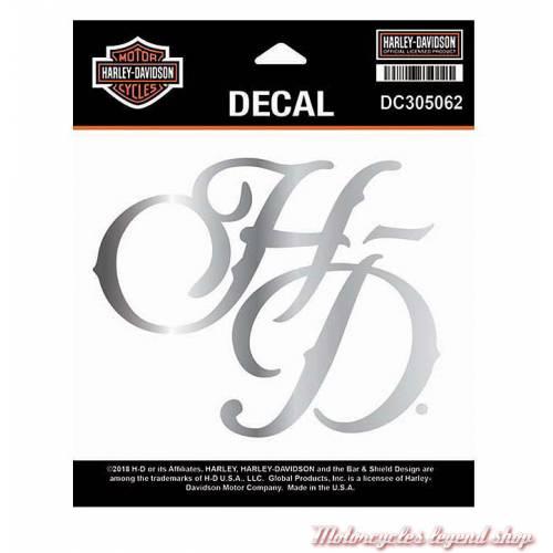 Sticker H-D Chrome Harley-Davidson, féminin, DC305062