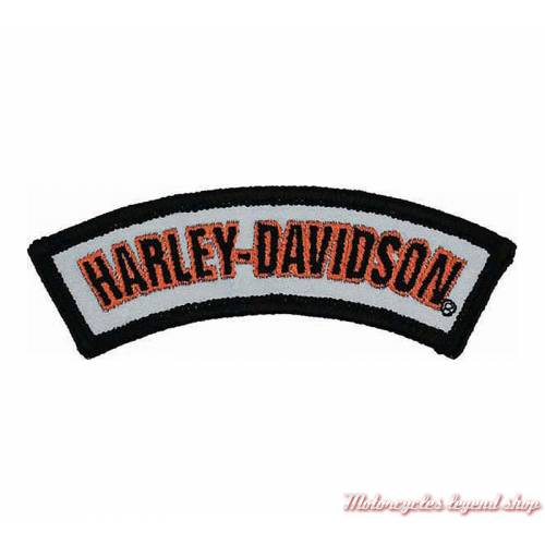 Patch Rocker Reflective Harley-Davidson