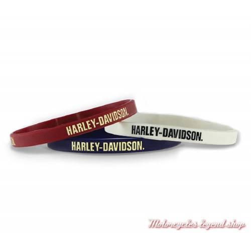 Bracelets silicone Nostalgic Harley-Davidson