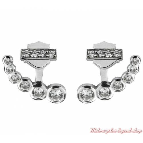 Boucles d'oreilles Infinity Bling Harley-Davidson