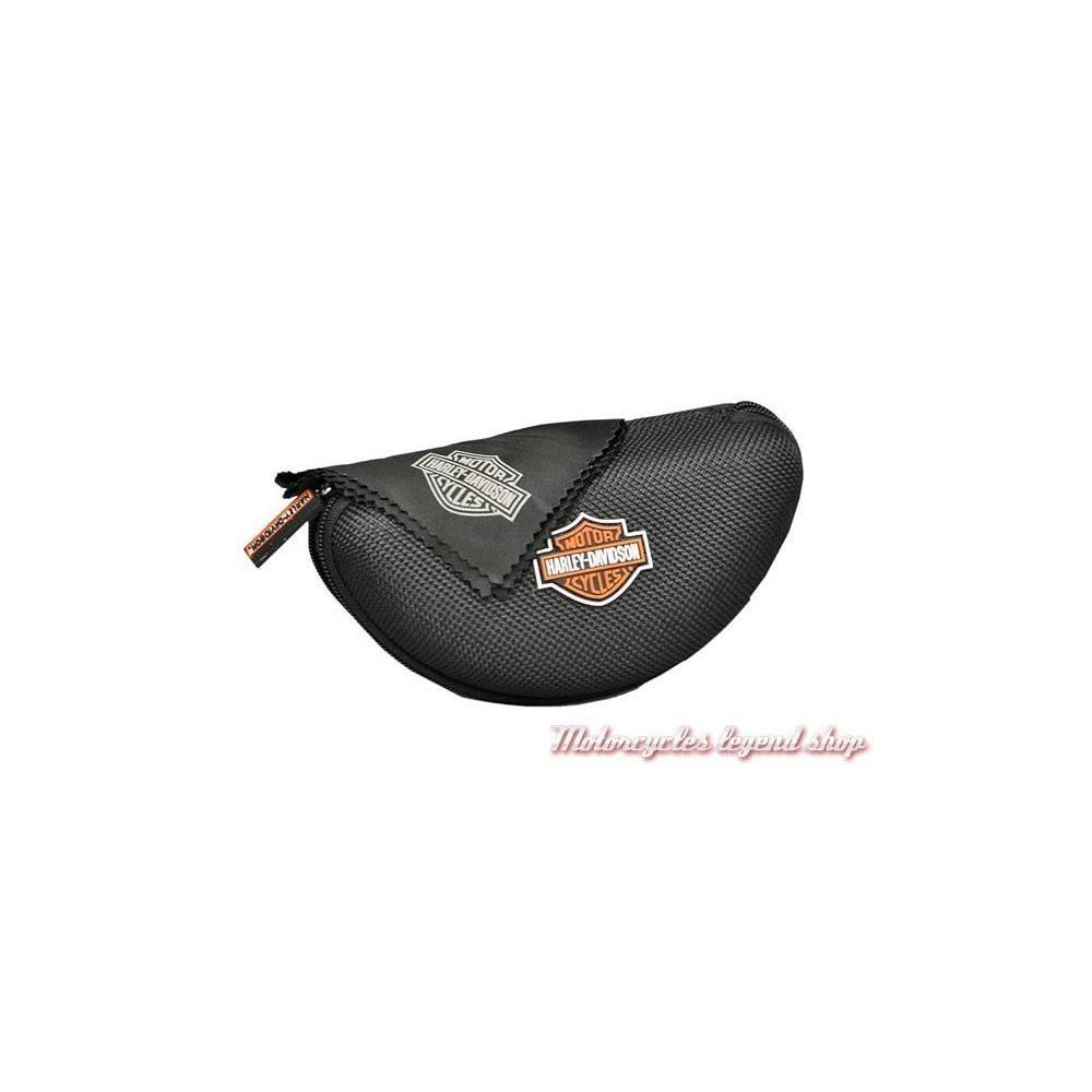 Lunettes jour/nuit Jet Harley-Davidson noir mat, étui, HDJET05