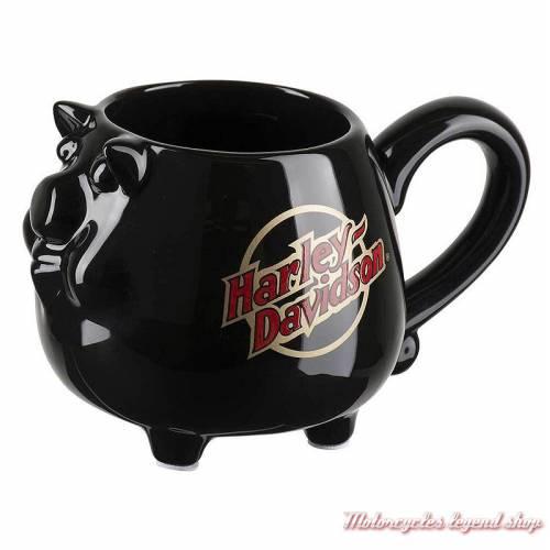 Mug HOG 40 cl, noir, Harley Davidson, HDX-98607
