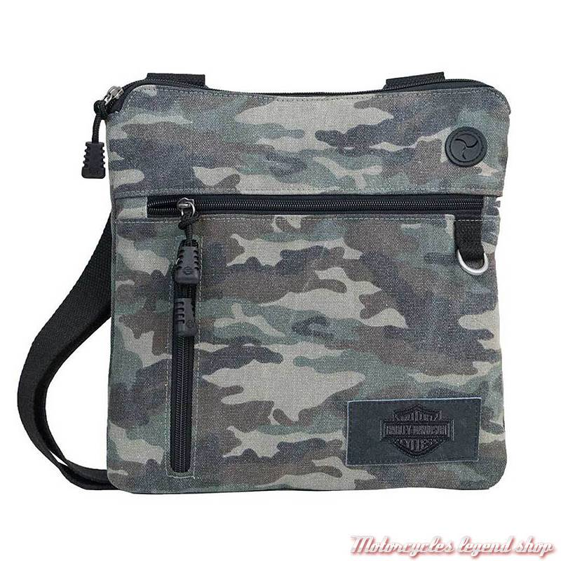 a068ee1b8f8 Sac pochette Camo mixte Harley-Davidson - Motorcycles Legend shop