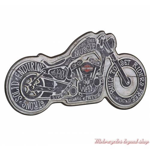Panneau Street Muscle Harley-Davidson