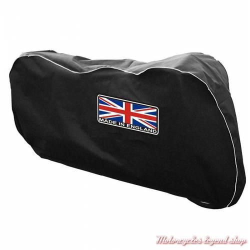 Housse de protection intérieur pour Speedmaster, polyester noir, Union Jack, British Legends DIV011-SB