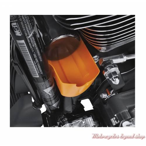 Entonnoir pour vidange d'huile Harley-Davidson pour moteur Milwaukee-Eight, visuel, 62700199