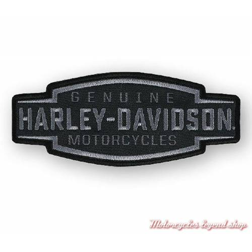 Patch Velocity Text Harley-Davidson